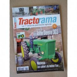 Tractorama n°31, John Deere 303, Alpenland GS15, Veuve Sornay, Eicher, Vendeuvre EVP, Fontaine