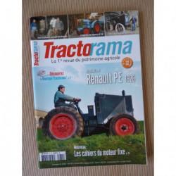 Tractorama n°32, Renault PE, Querry 9-18, Piet Verschelde, Léon Levavasseur, SFV 302, Millot C4, Egon