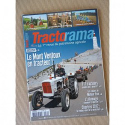 Tractorama n°35, Marshall 12/20, histoire du labour, National, Gillet