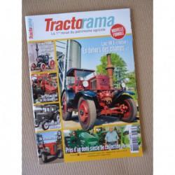 Tractorama n°37, Lanz HR8 routier, Lanz HM8, Massey Ferguson 165, Avto MTZ, National, Laffont, Minier