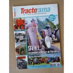 Tractorama n°39, SFV H1, Crépain, Gloppe, moteur Bertin, BM Volvo SM 667 Timmerkalle, Tarquini