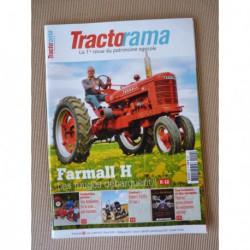 Tractorama n°40, Farmall H, Eicher E25, Puzenat, Claas, Noël, Jerphanion