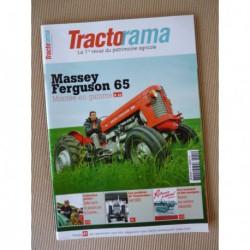 Tractorama n°41, Massey Ferguson 65, Puzenat, Ford Super Major 5000, CLM Junkers, CLM 302, Barré