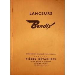 Bendix, lanceurs de démarreurs jusqu'en 1961