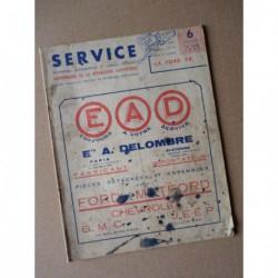 Service Ford et Matford 13cv et 21cv