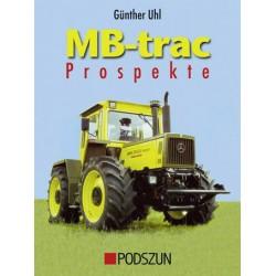 MB-Trac Prospekte, recueil des brochures publicitaires