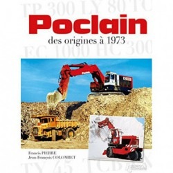 Poclain, des origines à 1973