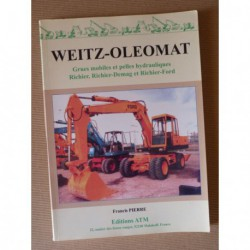 Weitz Oleomat: Grues mobiles et pelles hydrauliques Richier, Richier-Demag et Richier-Ford