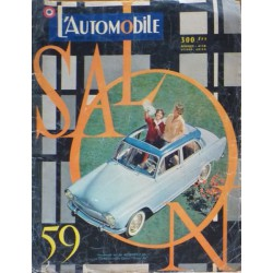 L'Automobile, salon 1959