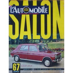 L'Automobile, salon 1967