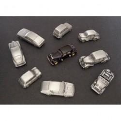 Lot 5 miniatures à peindre échelle N 1:160, modèles au choix