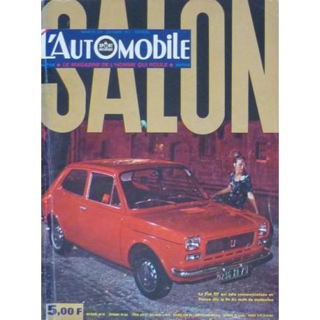 L'Automobile, salon 1971
