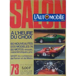 L'Automobile, salon 1973