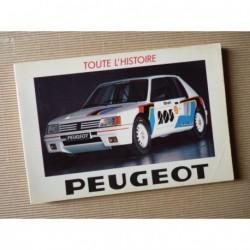 Toute l'histoire n°12, Peugeot
