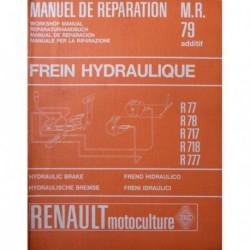 Renault Master frein hydraulique, manuel de réparation