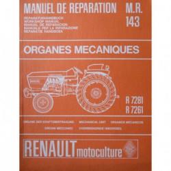 Renault 86 et 88, manuel de réparation châssis