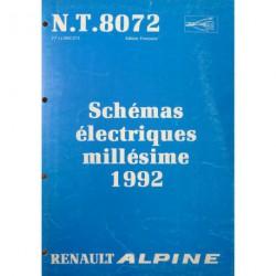 Alpine A610 Turbo D503 1992, schémas électriques