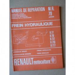 Renault Master frein hydraulique, manuel de réparation original