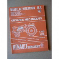 Renault 86 et 88, manuel de réparation châssis original