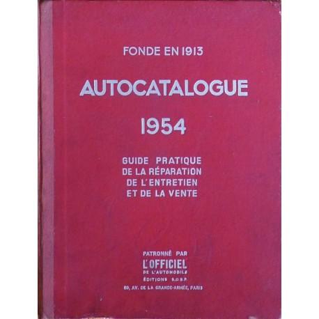 Autocatalogue 1954