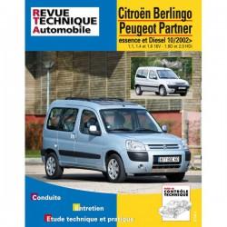 RTA Citroën Berlingo, Peugeot Partner I phase II, essence et Diesel