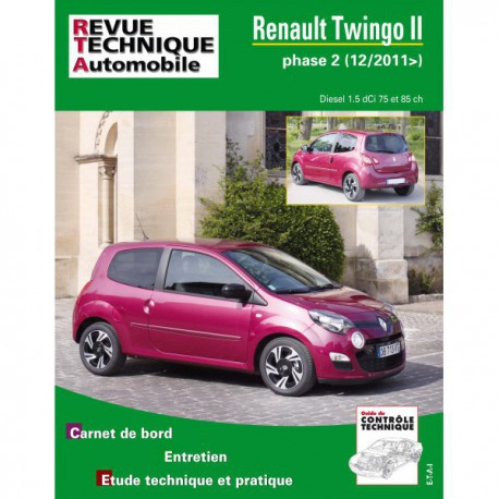 rta renault twingo ii phase 2 diesel. Black Bedroom Furniture Sets. Home Design Ideas