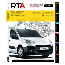 RTA Peugeot Partner II phase 2, 1.6 HDi