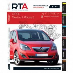 RTA Opel Meriva B phase 1