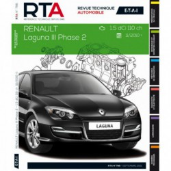 RTA Renault Laguna III phase 2