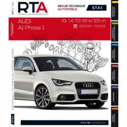RTA Audi A1 phase 1 (2010-15)