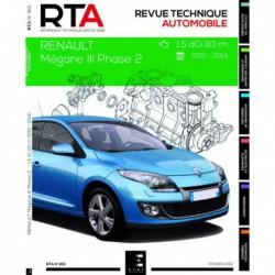 RTA Renault Mégane III phase 2 (2012-14)