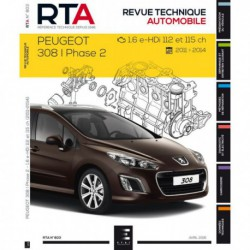 RTA Peugeot 308 I phase 2, 1.6 e-HDi