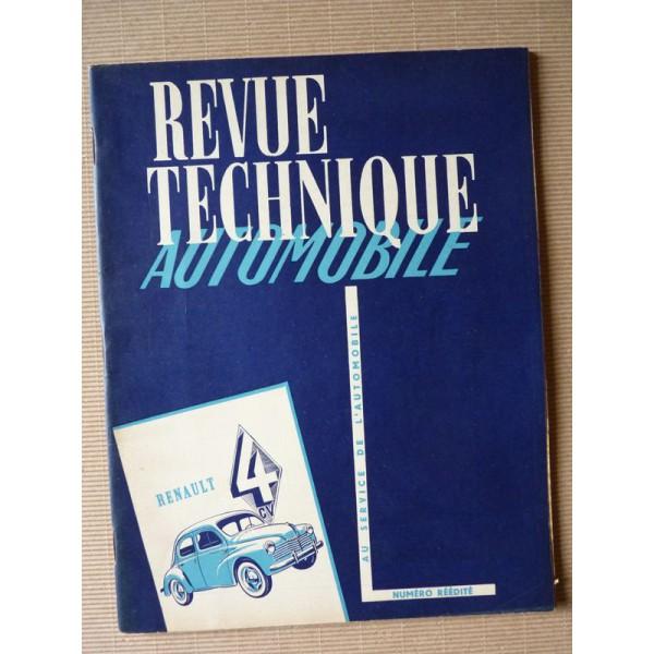 revue technique automobile renault 4cv r1060  r1062  r2070