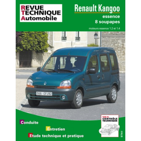 rta revue technique automobile renault kangoo i essence. Black Bedroom Furniture Sets. Home Design Ideas