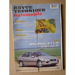 RTA Opel Omega B 2.5 TD
