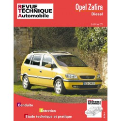 RTA Opel Zafira A, 2.0 Di et DTi