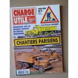 Charge Utile HS n°4, Chantiers Parisiens, 50 ans de grands travaux