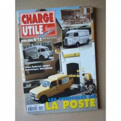 Charge Utile HS n°12, Les véhicules de La Poste (volume 1)