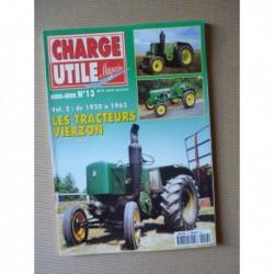 Charge Utile HS n°13, Les tracteurs Vierzon 1950-1963