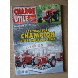 Charge Utile HS n°21, Les tracteurs Champion et les moteurs Céres