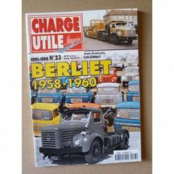 Charge Utile HS n°23, Berliet 1958-1960