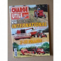 Charge Utile HS n°41, International en Europe, IH France