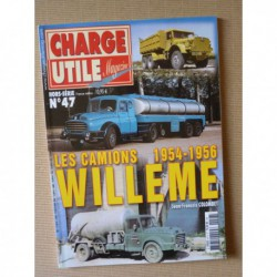 Charge Utile HS n°47, Les camions Willème 1954-1956
