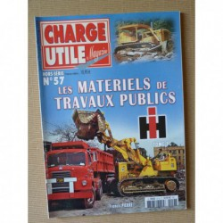 Charge Utile HS n°57, Les matériels de travaux public IH (tome 1)