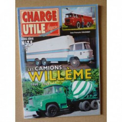 Charge Utile HS n°75, Les camions Willème 1960-1964