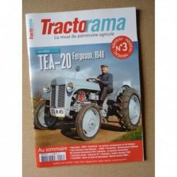 Tractorama n°3, Ferguson TEA-20, Same Cassani, Mccormick F44