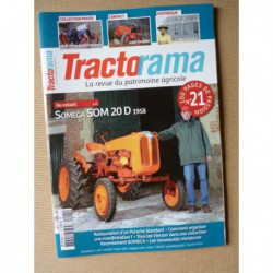 Tractorama n°21, Someca SOM 20D, Latil TL22, New Holland, Porsche Standard Star, David Brown, Pigny