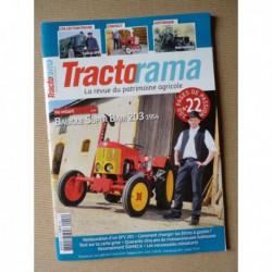 Tractorama n°22, Babiole Super Babi 203, Energic 511, New Holland, SFV 201, J.M. Deneux