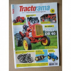 Tractorama n°45, MAP DR40, LTB type A, Zétor, Marshall, Japy 13E, Schlüter série Super