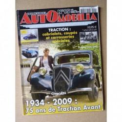 Automobilia n°95, Citroën Traction spéciales, Claveau, Peugeot 1935-45, 4cv BMS, Rambler, Henry J, Aero-Willys, Hudson